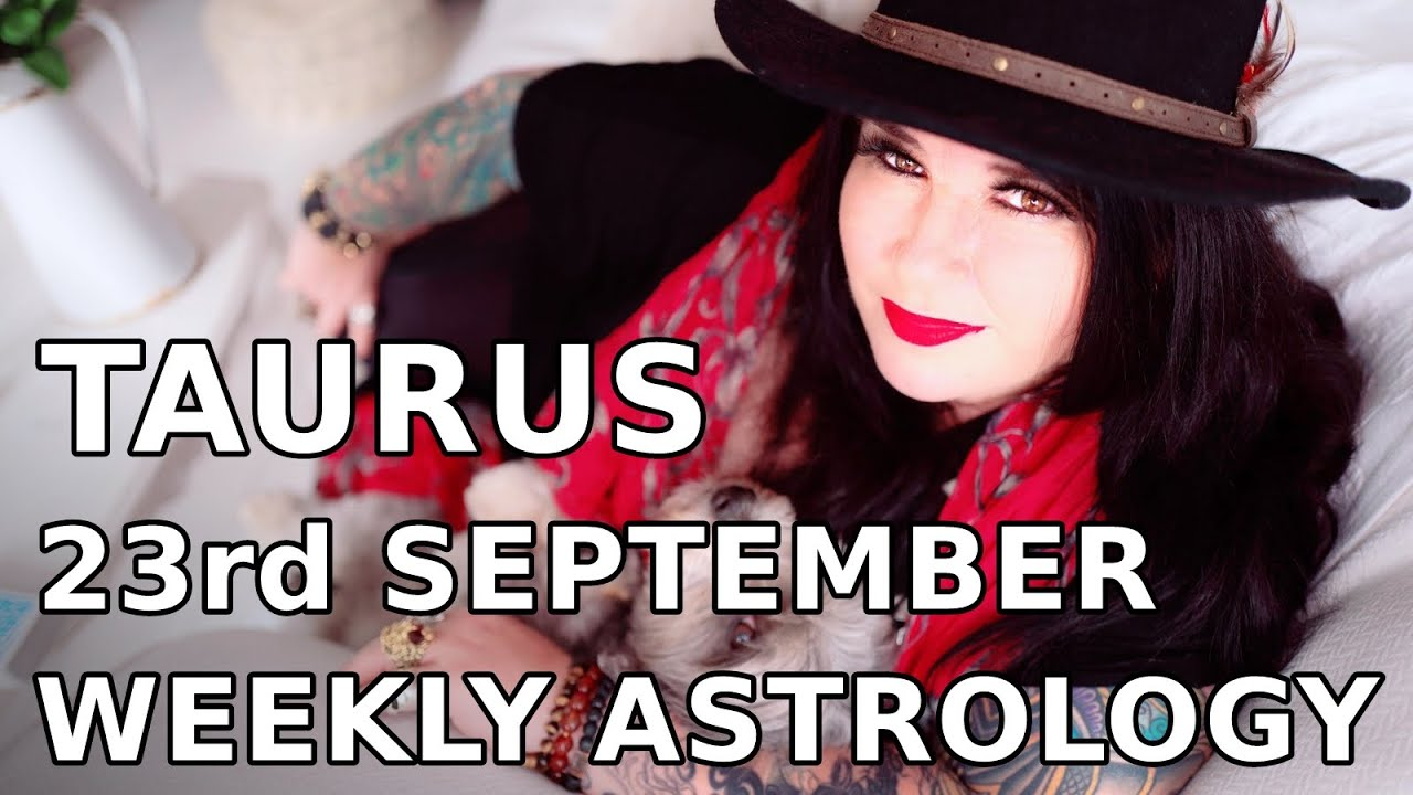taurus weekly horoscope 23 november 2019 michele knight