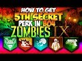 How To Get 5TH Secret Perk In Black Ops 4 IX Zombies