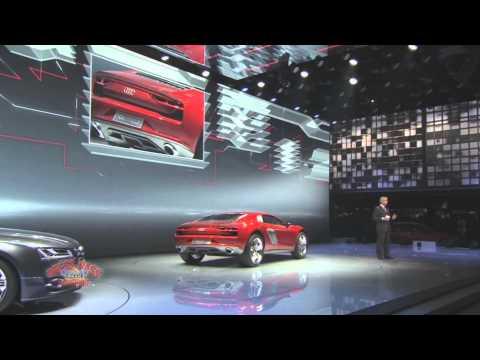Audi Presentation at 2013 Frankfurt Motor Show