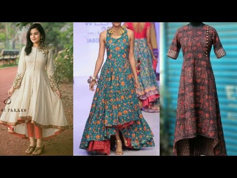 Latest Trending Tail Cut Kurti Style For Palazoo,Pants,Chudidaar,skirt || Beautiful You