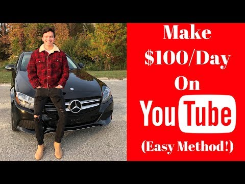 How To Make $100/Day On YouTube Without Making Videos