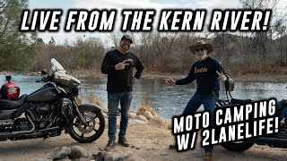 LIVE from the Kęrn River! | Motorcycle Camping | News, Upcoming Trips, and some Great Views!
