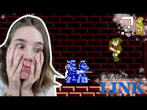 EL CABALLERO AZUL: The Legend of Zelda 2 (NES) The Adventure of Link Ep 7
