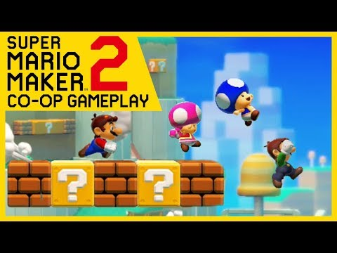 Super Mario Maker 2 - Online Multiplayer Co-op #89