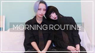 ラブラブ二人のMORNING ROUTINE♡