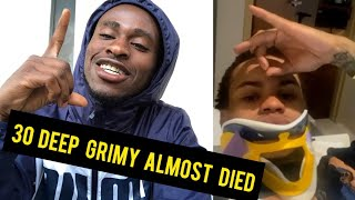 Crip Rapper 30Deep Grimy On Death Bed After Checking In With Texas Goons