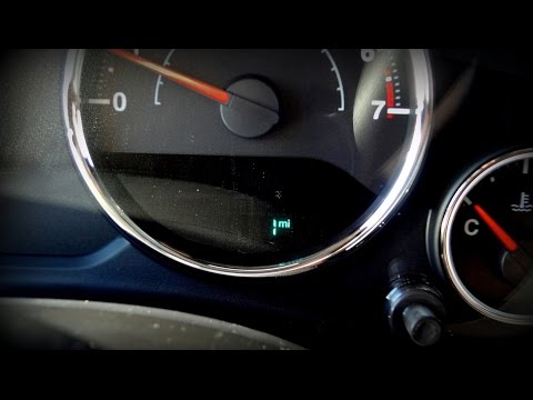 0 Miles? 1 Mile on Odometer