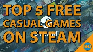 Top 5 Free Caṡual Games on Steam