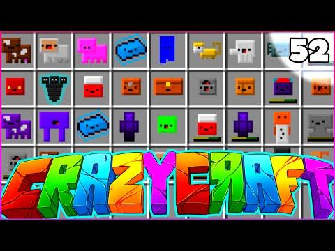 "Minecraft CRAZY CRAFT 3.0 SMP - ""INVENTORY PET CRAZE"" - Episode 52"