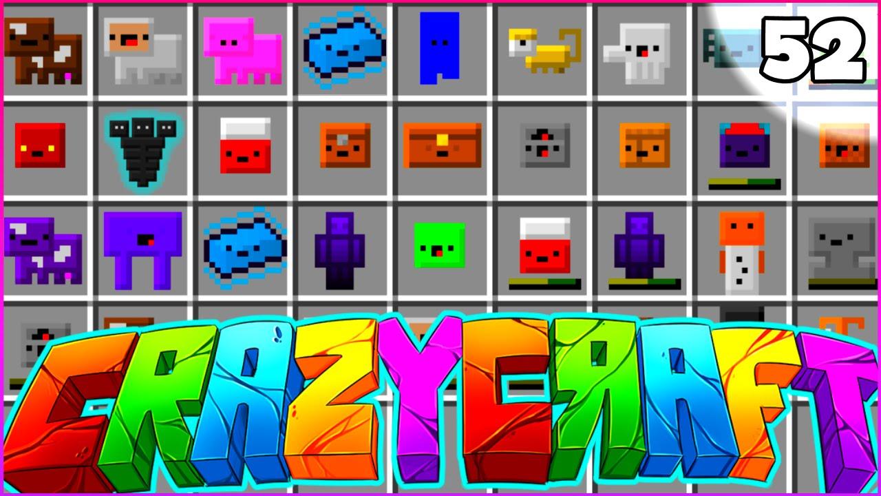 Minecraft crazy craft 3 0 smp inventory pet craze for Crazy craft 3 0 server