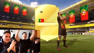 LUCKIEST FIFA 17 PACK OPENING EVER!!! - THE BEST FIFA 17 PACK OPENING