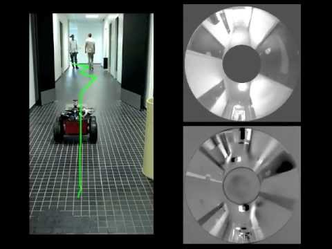 Photometric visual servoing for omnidirectional cameras - AURO 2013