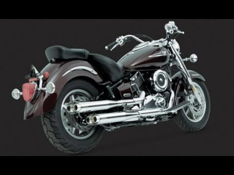 pipes vance and hines classic ii for v star 1100 1999 2011