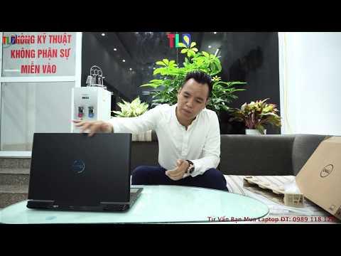 Đập Hôp Laptop Gaming Dell G7 7588 GTX1060 6GB Cực Hót 2018