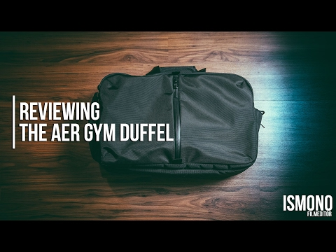 The Best Gym bag? Reviewing AER Gym Duffel
