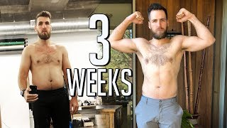I LOST 12LBS IN THREE WEEKS    Fitness Challenge Week 3    Gent