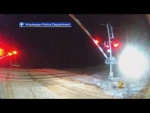 Waukegan Officer Saves 17-Year-Old Trying To Run On Train Tracks