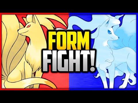 Ninetales: Kanto Vs Alola | Pokemon Form Fight