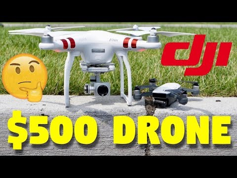 DJI Spark VS DJI Phantom Which $500 Drone Is Right For You?