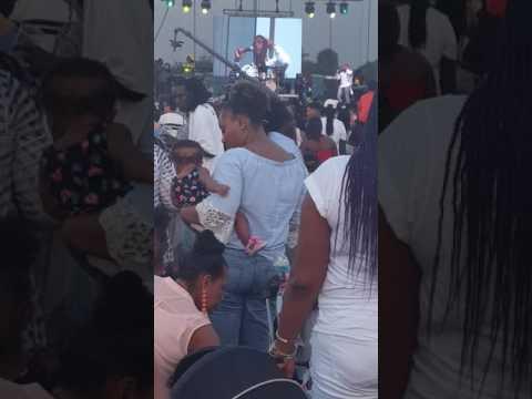 Agent Sasco aka Assassin  at the Palm Beach Jerk Festival  2017-  part 1