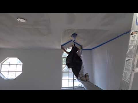 Popcorn Ceiling Removal - Strada Walkthrough