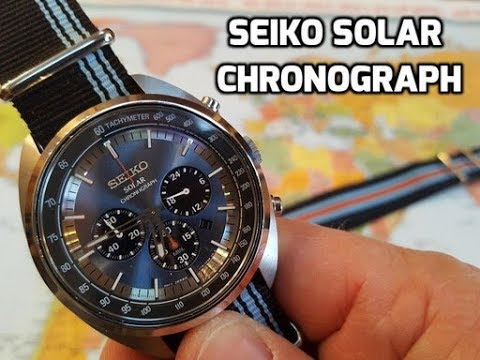 reputable site 7d033 62a44 Seiko Solar Recraft Chronograph!! SSC667