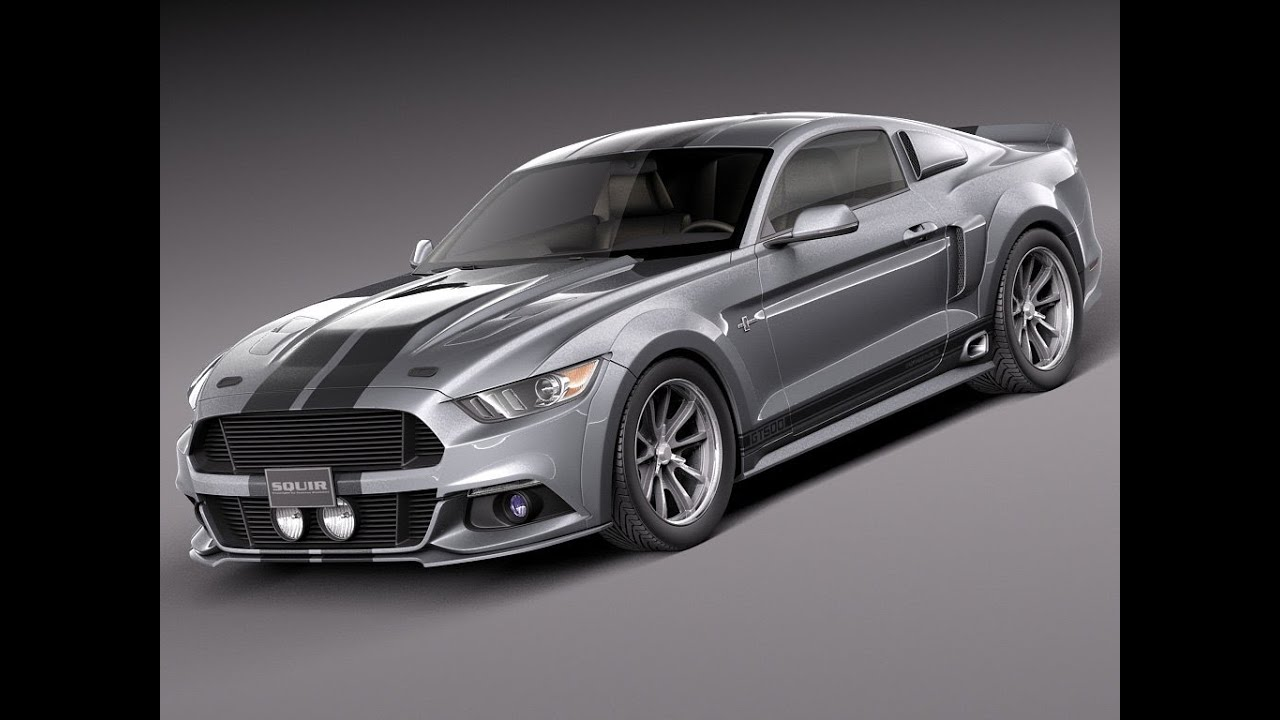 3d model ford mustang eleanor 2015 at youtube. Black Bedroom Furniture Sets. Home Design Ideas
