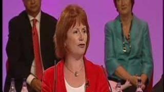 Hazel Blears speaks to Conference