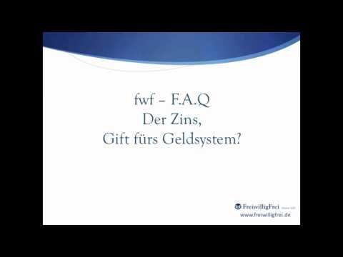 Der Zins - Gift fürs Geldsystem? - FreiwilligFrei.de
