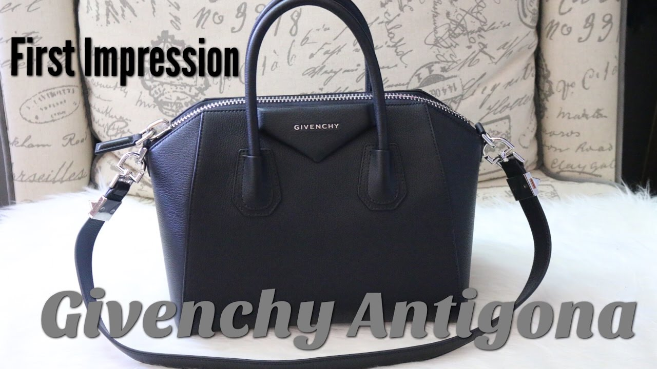 0067cc2a3f Givenchy Antigona Small  First Impression - YouTube