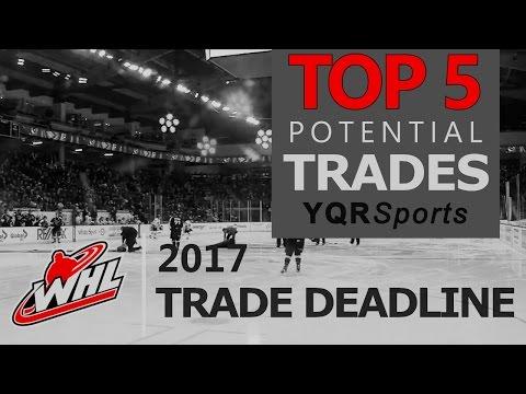 """Top 5 Potential Trades""  - WHL"