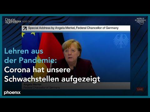 Davos Agenda Week: Rede von Angela Merkel