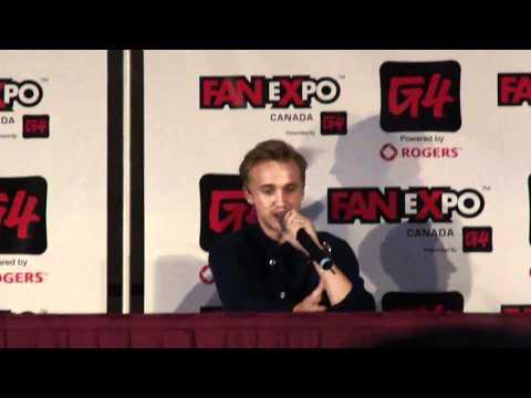 Tom Felton talks fiction, Dramoine, Drarry and Drapple