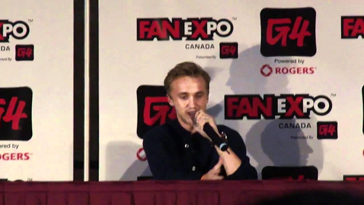 tom felton talks fanfiction dramoine drarry and drapple