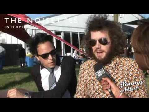 pinkpop 2009, Noisettes - Just Jack, Interviews jimmy Alter