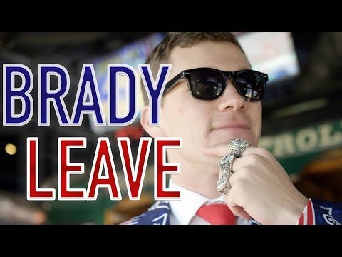 Deej - BRADY LEAVE Parody Song Asks Tom Brady to Retire