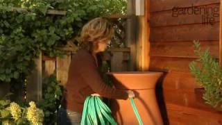 Installing the Cascata Rain Barrel