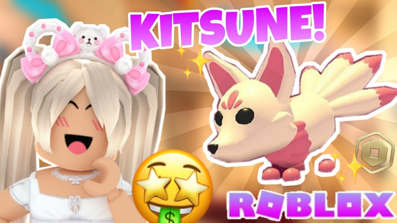 Buying The New Kitsune Pet! | ROBLOX Adopt Me