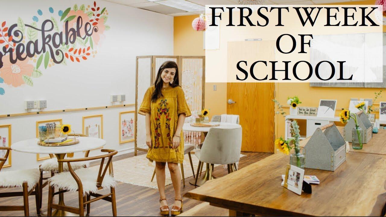 Life As A High School Teacher First Week Of School