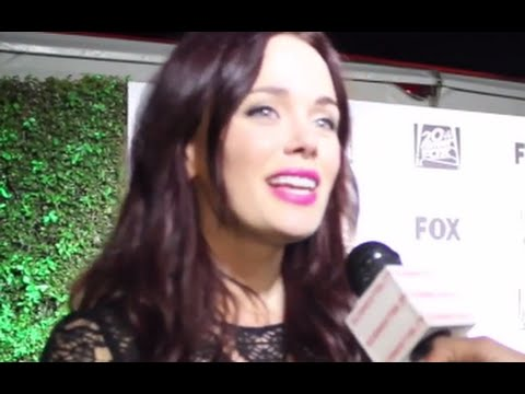 Actress KATIA WINTER from Sleepy Hollow Interviews at the Golden ...