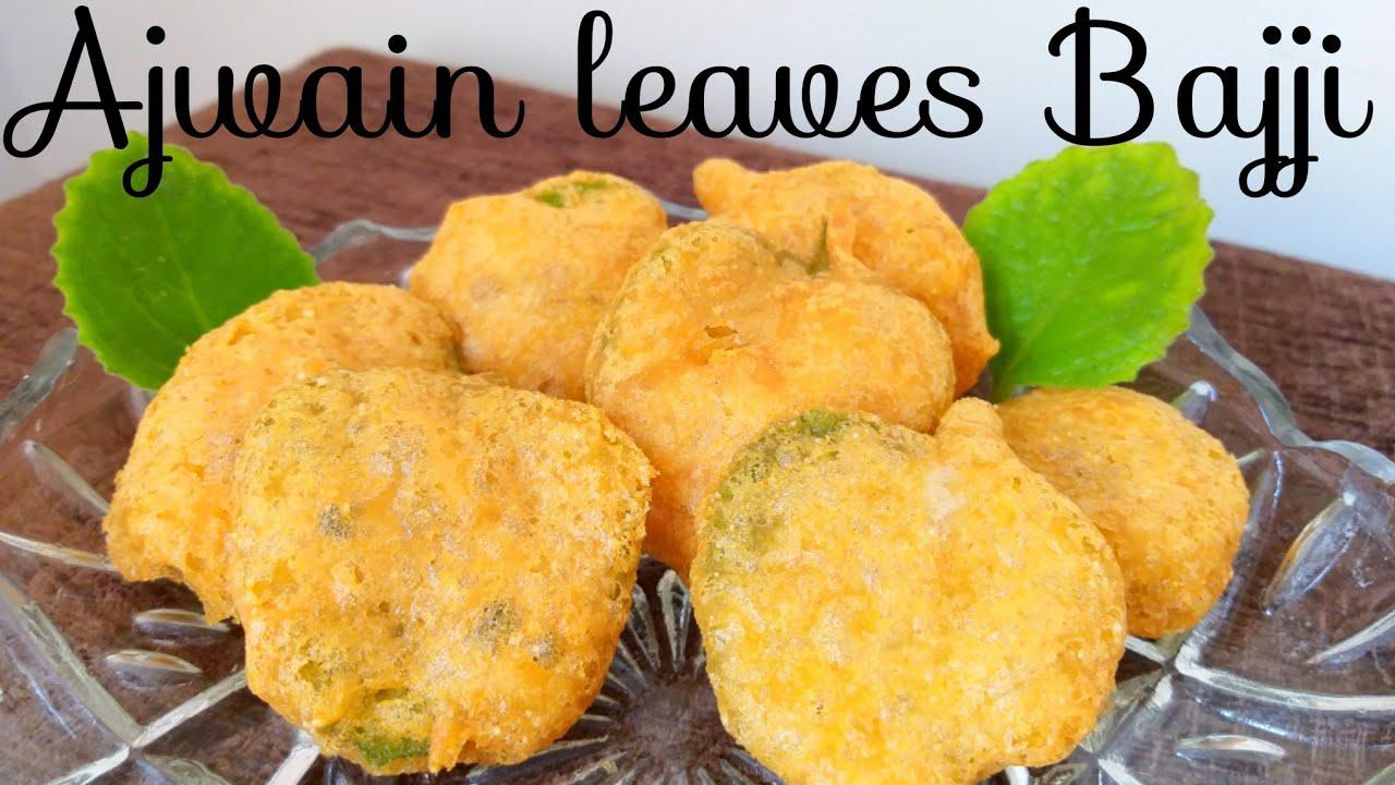 Ajwain Leaves Bajji - Telugu Food And Diet News