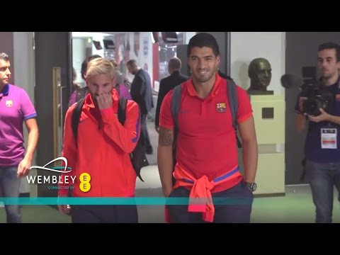 Liverpool v Barcelona - Tunnel Cam (Messi, Suarez, Klopp, Coutinho) | Inside Access