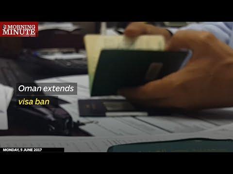 Oman extends visa ban