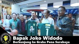 Bapak Joko Widodo Berkunjung ke Graha Pena Surabaya | PERSEBAYA