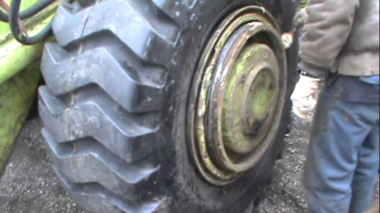 T Rex Split Rim Tire Installation - YouTube