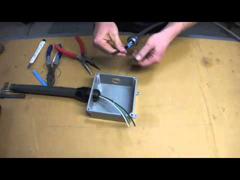 heat cable hardwire tutorial youtube rh youtube com Cable Wiring Installation Crossover Cable Wiring