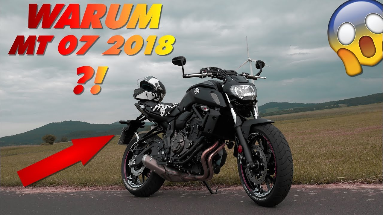 warum habe ich die yamaha mt 07 2018 gekauft youtube. Black Bedroom Furniture Sets. Home Design Ideas