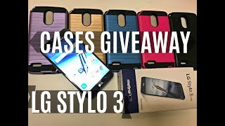 LG Stylo 3 FREE CASES GIVEAWAY - Does the Stylo 2 case fit ?