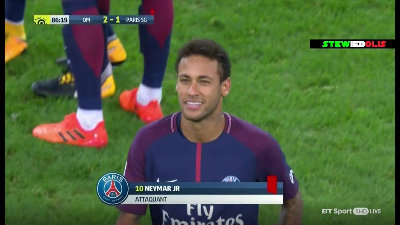 a3bb57c20546 Neymar Jr ⚽ Red Card 🔴 Vs Marseille ⚽ Marseille Vs PSG 2-2 ⚽ HD  Neymar