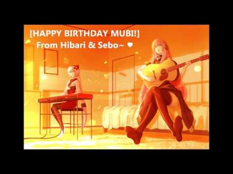 【Hibari & Sebo】 PONPONPON - Acoustic Guitar Ver. 【HAPPY BIRTHDAY MUBI!】
